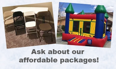 jumping balloon packages el paso
