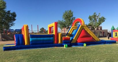 Inflatable Obstacle Course El Paso